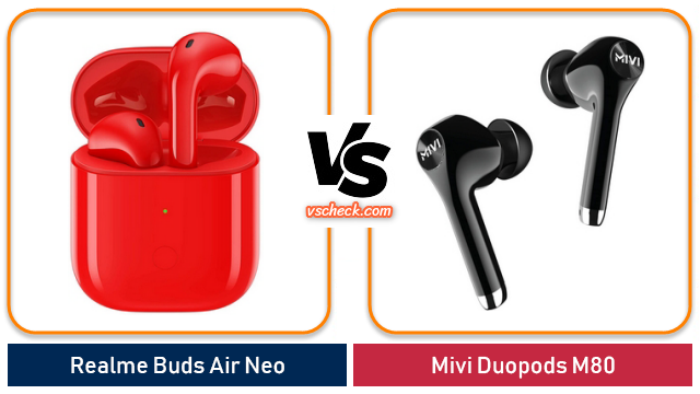 realme buds air neo vs mivi duopods m80